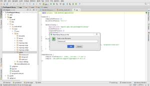 Create Theme xml file